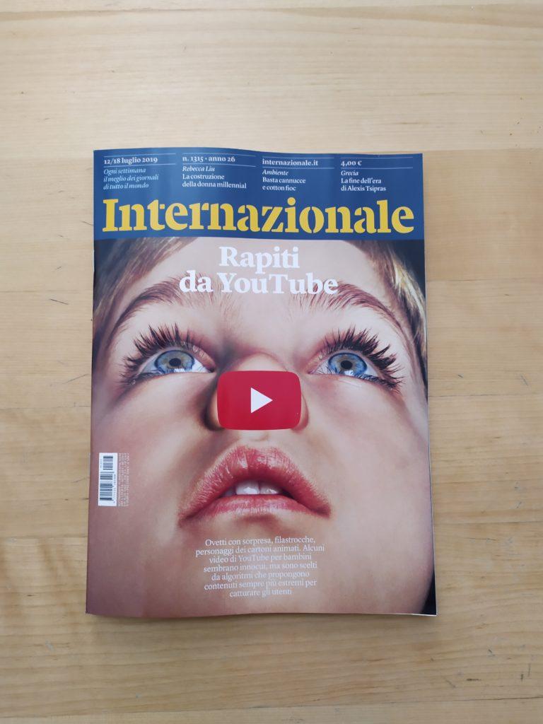 copertina di internazionale 1315